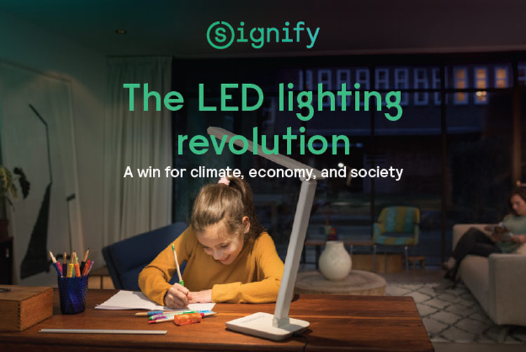 Sustainable lighting | Signify Company Website