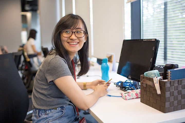 Signify intern in the spotlight: Wei Ling Chiang