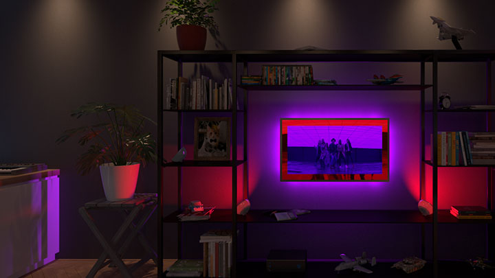 "Create ""surround sound for your eyes"" with Philips Hue Sync, now available"