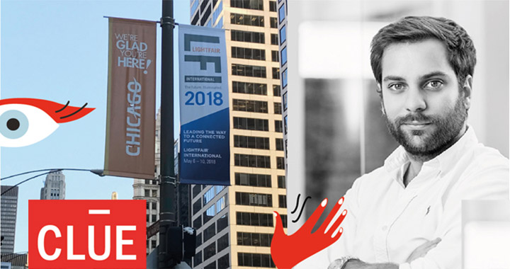 Santiago Bautista, first prize winner of CLUE 04 Competition attends Lightfair 2018