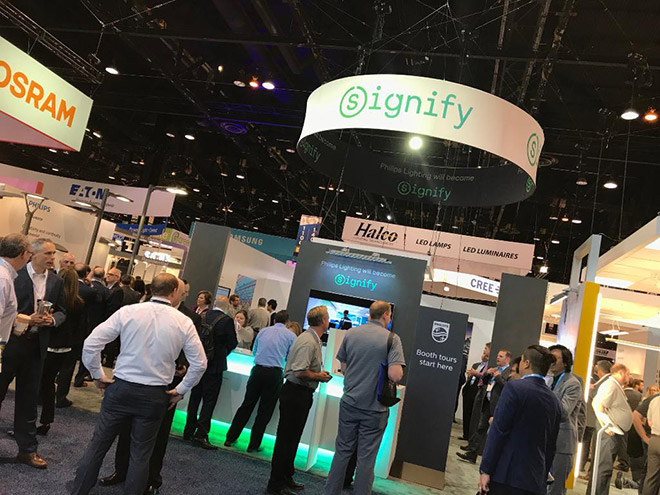 Signify booth