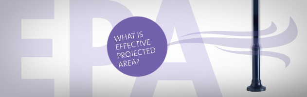 Wat is effective projected area?