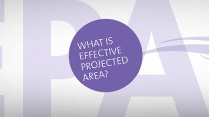 What is Effective Projected Area (EPA)?