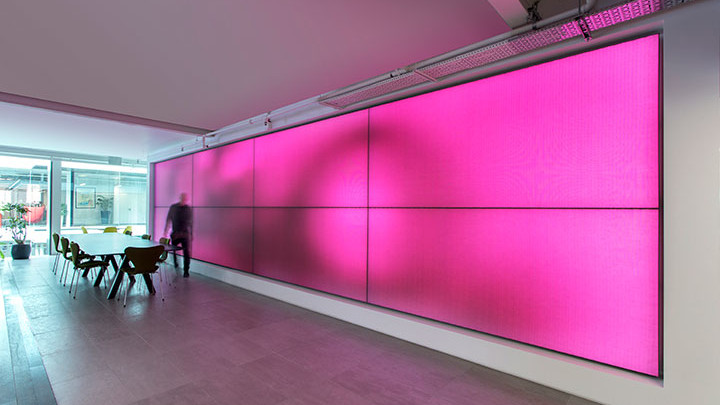 Improve well-being at your workplace with luminous textile panels | Signify