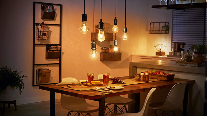 The Philips Hue Filament collection: Bring vintage style to your smart home