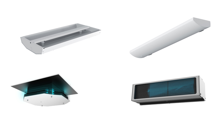 alkco wall and ceiling mounted uv-c