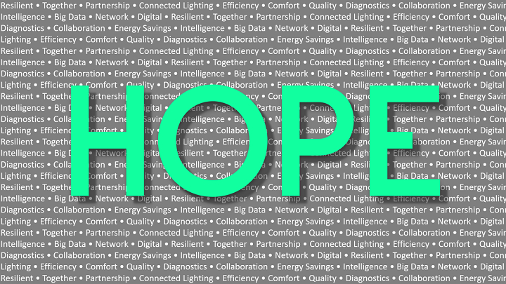 Disruption brings new hope and opportunities