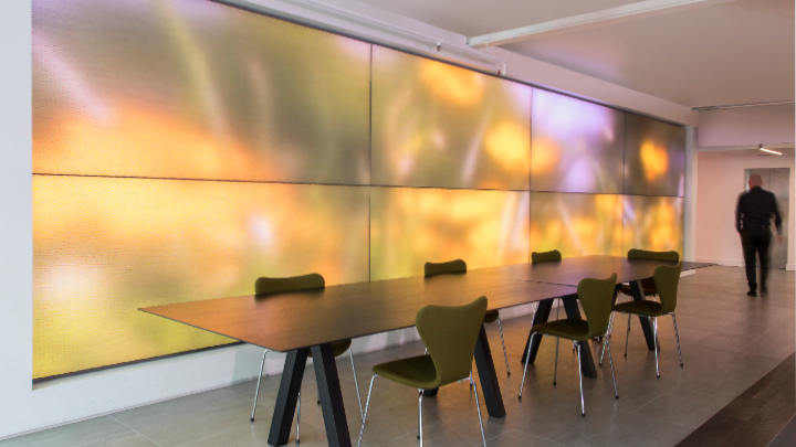 OneSpace and Luminous Textile can boost the mood of employers in various workplaces