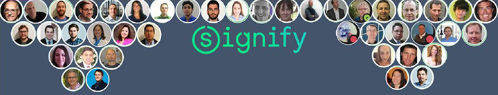 Signify banner