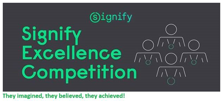 Signify Excellence Competition