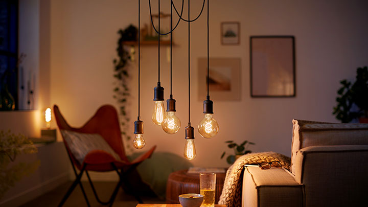 LED bulbs with the look of vintage incandescent