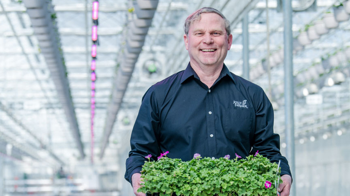 Jolly Farmer in Canada grows 3,000 different plant varieties