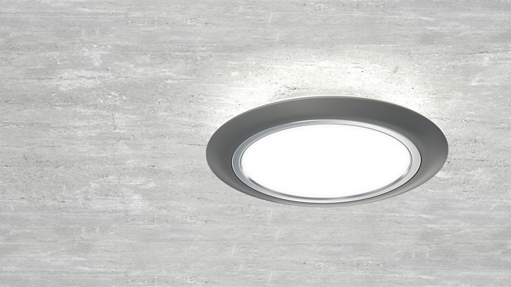 Gardco SoftView LED parking garage luminaires