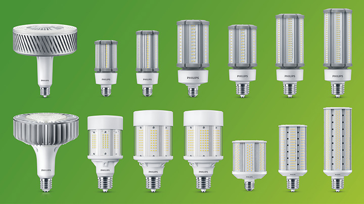 Perfect fit with Philips LED HID Replacement Lamps