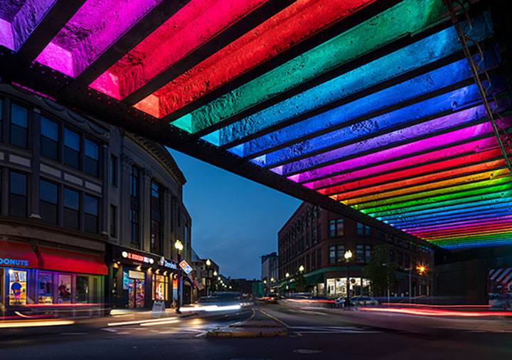 How IoT lighting technology brings a contemporary approach to urban revitalization for the city of Lynn MA