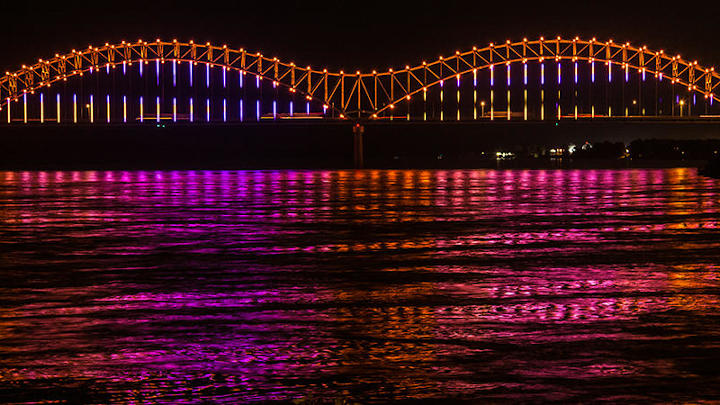 Signify lights the way as Mighty Lights bookend historic Memphis riverfront