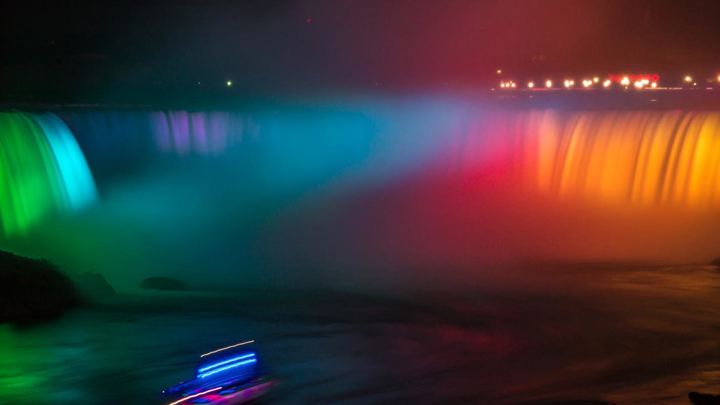 NEO Console lights up Niagara Falls