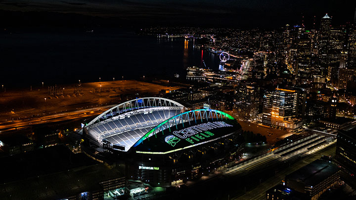 Seattle Seahawks and CenturyLink Field
