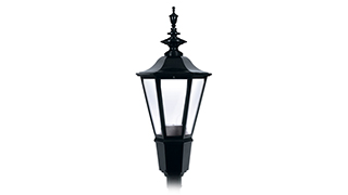 Architectural LED post top