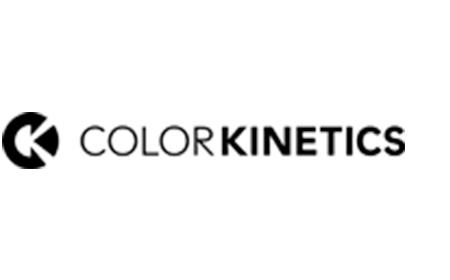 Logotipo da marca ColorKinetics