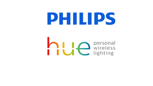 logotipo de Philips HUE